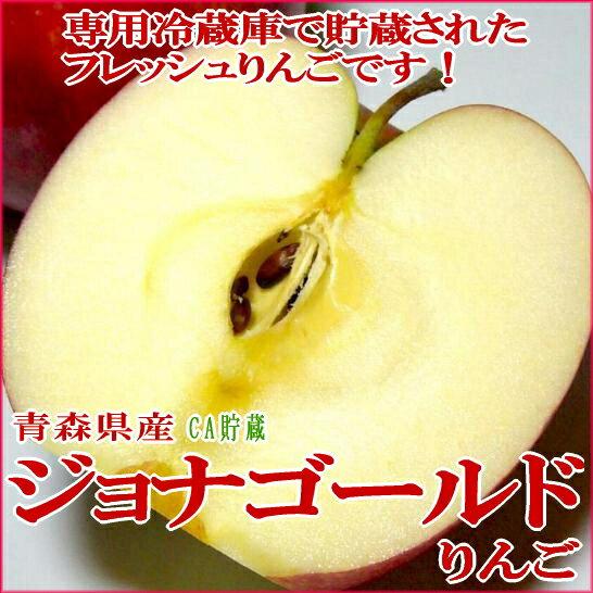 (りんご リンゴ 林檎 アップル)ジョナゴールド 約10kg 大玉 28〜32個入り 青森産 (CA貯蔵リンゴ)甘みと酸味がバランスいいリンゴです