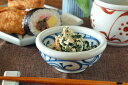 【砥部焼 梅山窯】内外からくさの玉ぶち鉢(3寸)