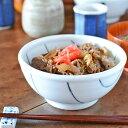 【砥部焼 梅乃瀬窯】しましま柄の丼鉢(小)