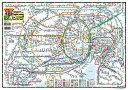 首都圏交通マップ(表面:日本語、裏面:英文)※2017年最新版!