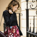 【barthet バーゼット】Lovery Autumnカタログ美香さんはブラックを着用