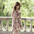 キャンセル分登録しました★【cleveis クレヴィス】FlowerBroom カタログ泉里香さんはベージュを着用