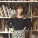【wacana ワカーナ】tocco closet(トッコクローゼット) Collection田中みな実さんはネイビー着用※toccoモデル身長163cm