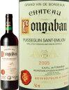 時に本来のサンテミリオンのワインと比べ遜色のないワインとして定評があります。凝縮された果実味、柔らかい口あたり、滑らかな喉ごしが大きな特長。