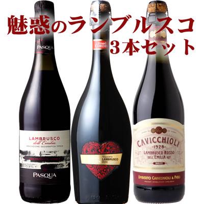 ランブルスコ 3本セット【送料無料S】【ワインセ...の商品画像