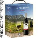 ラ クロワザード / クラシック メルロー BIB [2018][2019] 赤ワイン ミディアムボディ 3000ml / フランス ラングドックルーション IGP Pays d'Oc La Croisade Classic Merlot 3L 大容量 箱ワイン BOXワイン バッグ イン ボックス