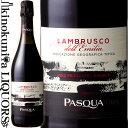 パスクア / ランブルスコ デッレミリア  赤 微発泡 スパークリングワイン やや甘口 750ml / イタリア エミリア ロマーニャ州 .G.T.デッレミリア PASQUA LAMBRUSCO DELL'EMILIA AMABILE