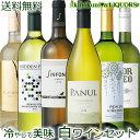 キィーンと冷やして美味しく飲める世界のコスパ!辛口白ワイン6本セット【送料無料】
