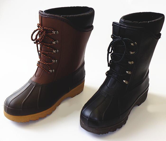 弘進・マックウォーカー MW-01F ショートタイプの防寒長靴 (スノーブーツ 雪 おしゃれ ながぐつ 長ぐつ レインシューズ メンズ ショートブーツ スノー 極寒 足 釣りブーツ 半長靴 弘進ゴム フィッシング ガーデニング)