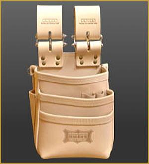 KNICKS(ニックス) KNS-301DDX 総ヌメ革使用3段腰袋