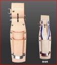 KNICKS(ニックス) SKN-201PLDX チェーン式親子2段ペンチホルダーSUSバンド仕様 (工具差し 工具袋 ツールホルダー)