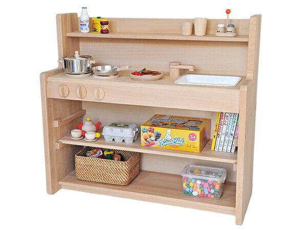 トッドルのシンプルキッチン。クリスマスプレゼント,保育所,幼稚園での使用にも最適。組み立て完成品でお届けします