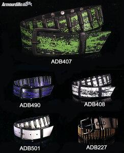 【Armourdillo】アルマジロBULLET全13色皮ベルト