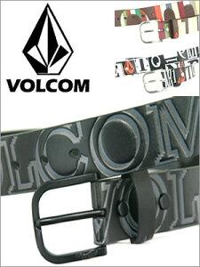 新作!【VOLCOM】ボルコムメンズBELT(ベルト)BLKPVC(ポリ塩化ビニル)ベルト29〜35inch対応