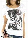 【VOLCOM】ボルコム レディース デザインTシャツ