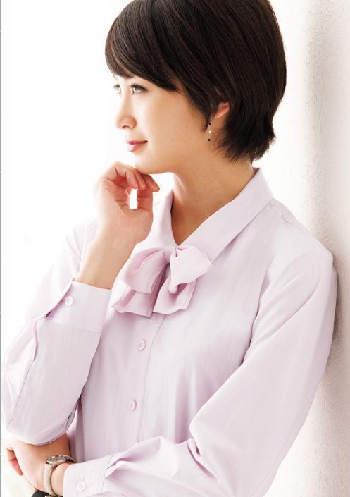 [2010年秋・冬新作] ARM360°ブラウスの裾がスカートからはみ出しにくい長袖ブラウス(2枚セット)色・サイズ選び放題 カーシーカシマ EWB347 企業制服 事務服
