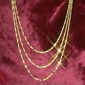 純金デザインネックレス「メトレスファンタジア」
