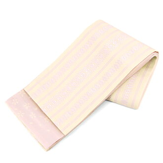 Washable belt reversible Obi 'tribute' beige