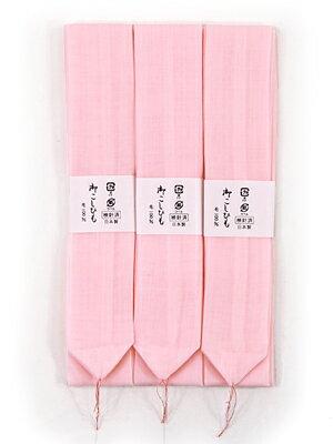 Three muslin waist cord sets