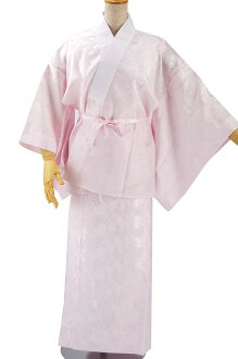 ○ o. Washable at home long juban. o ○ Jugendstil with half-collar! Tailoring up bipartite expression nagajuban pink