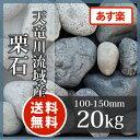 天竜川流域産栗石100-150mm 20kg【あす楽】