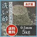 天竜川中流域産洗い砂 5kg【送料無料】【あす楽】