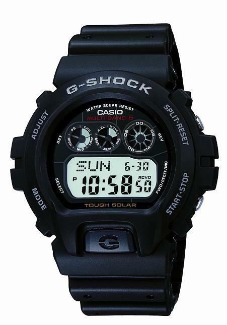 【お取寄せ品】 カシオ G-SHOCK国内品 ソーラー電波 GW-6900-1JF G-SHOCKソーラー電波 ベーシックマルチバンド6搭載