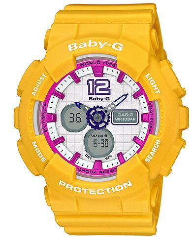 【お取寄せ品】 カシオBaby-G国内品 TheG スポーティモデル BA-120-9BJF:T.Time シチズン カシオ ストリートコーデをスポーティルックにアップグレードするBaby-G