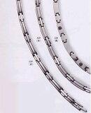 根据制造商的直接产品,取得了纯钛]海9白金豪华镀金项链锗石45.5cmMARE129[MARE129【smtb-tk】]