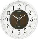 【お取寄せ品、特価品】シチズン電波掛時計「エコライフM806」4MY806-003