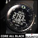 SUUNTO CORE スントコア オールブラック メンズ アウトドア ウォッチ腕時計 海外 モデル
