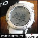 SUUNTO COREスント コア CORE PURE WHITE メンズ腕時計 海外 モデル SS018735000