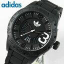 アディダス adidas NEWBURGH ニューバーグ メンズ 腕時計 時計 ウォッチ 新品 カジュアル スポーツ ブランド 軽量 シリコン ラバー バンド ADH2963 海外モデル カレンダー ブラック 黒 誕生日 ギフト