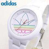 adidas アディダス adidas originals ABERDEEN ADH3015 海外モデル メンズ レディース 腕時計 男女兼用 ユニセックス シリコン ラバーバンド ホワイト 白