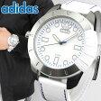 ★送料無料 adidas アディダス SUPERSTAR スーパースター ADH3036 海外モデル メンズ 腕時計 ウォッチ 革バンド レザー 白 ホワイト父の日 ギフト
