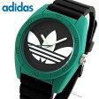 adidas アディダス SANTIAGO サンティアゴ ADH3109 海外モデル メンズ 腕時計 ウォッチ グリーン ブラック 緑 黒秋 コーデ 誕生日 ギフト