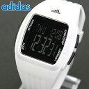 adidas アディダス DURAMO MID デュラモ ミッド ADP3263 海外モデル メンズ レディース 腕時計 男女兼用 ユニセックス ウレタン バンド クオーツ デジタル 黒 ブラック 白