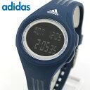 ★送料無料 adidas アディダス ADP3267 海外モデル メンズ レディース 腕時計 男女兼用 ユニセックス シリコン ラバー バンド クオーツ デジタル 黒 ブラック 青 ネイビー