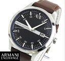★送料無料 ARMANI EXCHANGE アルマーニ エクスチェンジ AX2133 海外モデル メンズ 腕時計 ウォッチ 革バンド レザー クオーツ アナログ 青 ネイビー 誕生日 ギフト
