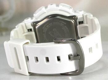 CASIOカシオBaby-GベビーGレディース腕時計新品女性用時計ウォッチビッグケースモデルBA-110-7A3白ホワイト海外モデル【楽ギフ_包装】【BA110】【bigcase】入学祝い【P27Mar15】