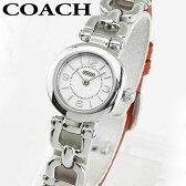 ★送料無料 COACH コーチ WAVERLY ウェイバリー 14501853 海外モデル レディース 腕時計 ウォッチ 白 ホワイト 赤 レッド