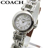 ★送料無料 COACH コーチ WAVERLY ウェイバリー 14501854 海外モデル レディース 腕時計 ウォッチ 白 ホワイト 茶 ブラウン