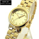 ★送料無料 マーク バイ マーク ジェイコブス MARC BY MARC JACOBS マーク ジェイコブス レディース 腕時計 新品 時計 女性 MBM3174 ゴールド メタル