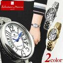 Salvatore Marra サルバトーレマーラ SM17152 レディース 腕時計 クオーツ アナログ 白 ホワイト 金 ゴールド 銀 シルバー 成人祝い 誕生日プレゼント 女性 彼女 女友達 ギフト 正規品 ブランド