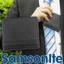 ★送料無料 SAMSONITE サムソナイト SAM-U70-856 メンズ 財布 二つ折り財布 ビジネス スーツ 海外モデル 黒 ブラック プレゼント父の日 ギフト