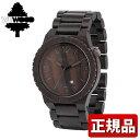 ★送料無料 WEWOOD ウィーウッド ALPHA BLACK アルファ ブラック 9818042 メンズ 腕時計 ウォッチ 茶 ダークブラウン夏物 誕生日 ギフト