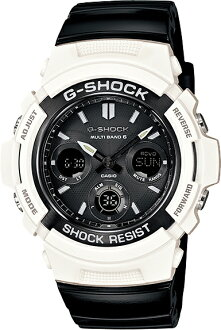 "CASIO g-shock AWG-M100GW-7AJF ""White and Black Series"""