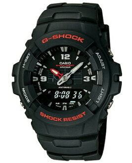 "CASIO  G-SHOCK G-100-1BMJF ""STANDARD COMBINATION"""