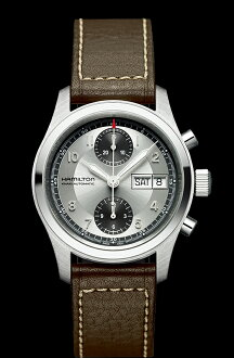 "HAMILTON H71466553 ""Khaki Field Auto Chrono 38 mm"""