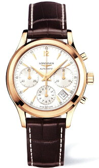 "LONGINES L2.742.8.76.2 ""Heritage/The Longines Column-Wheel Chronograph"""